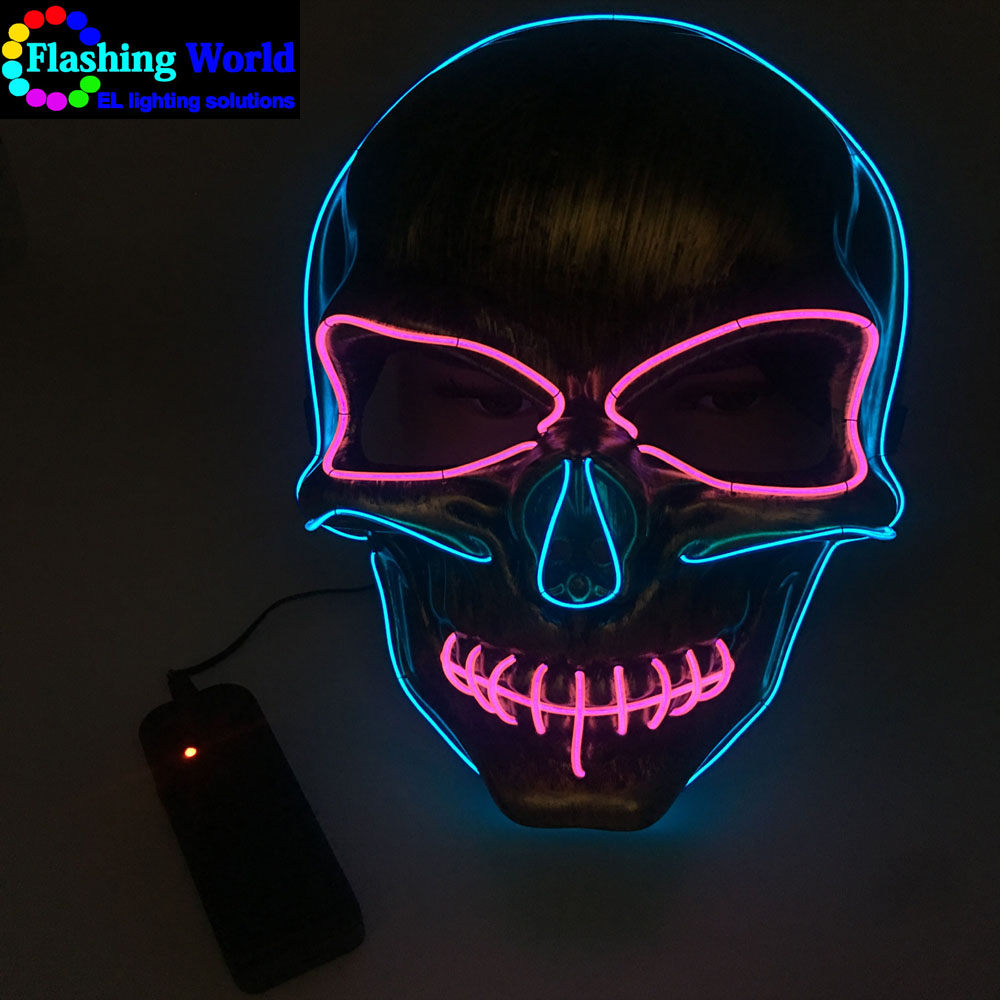 Halloween mask led, light rave mask for Festival,Party,Dance Ball,Cosplay
