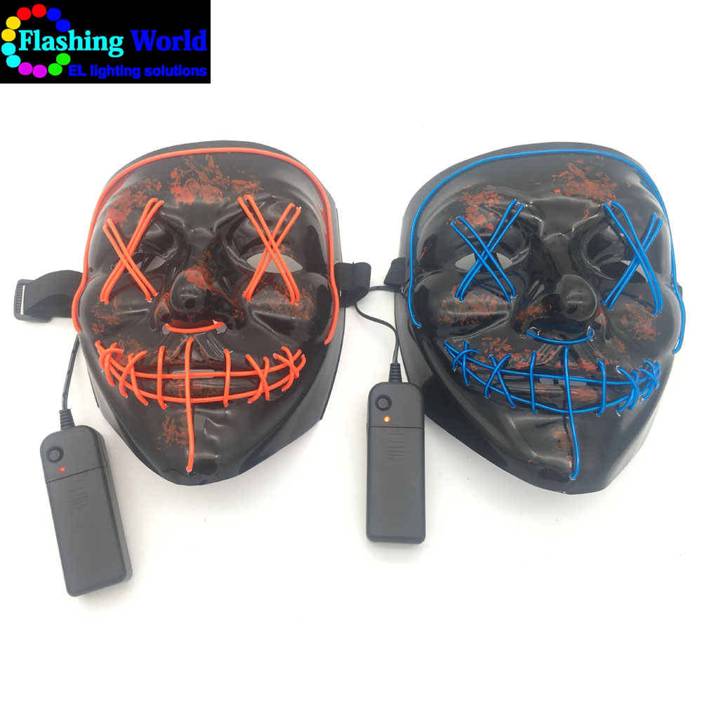 led halloween mask, led light therapy mask for Festival,Party,Dance Ball,Cosplay