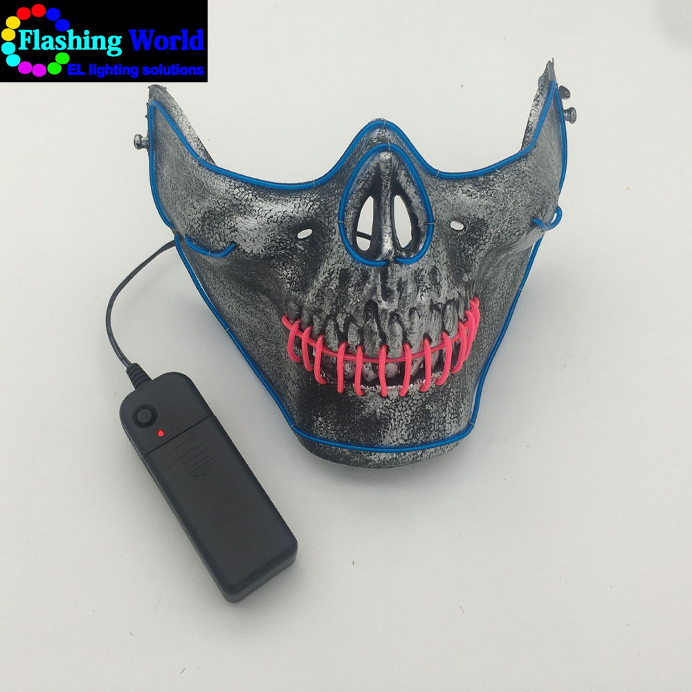 led light therapy mask, light up mask for Festival,Party,Halloween,Dance Ball,Cosplay