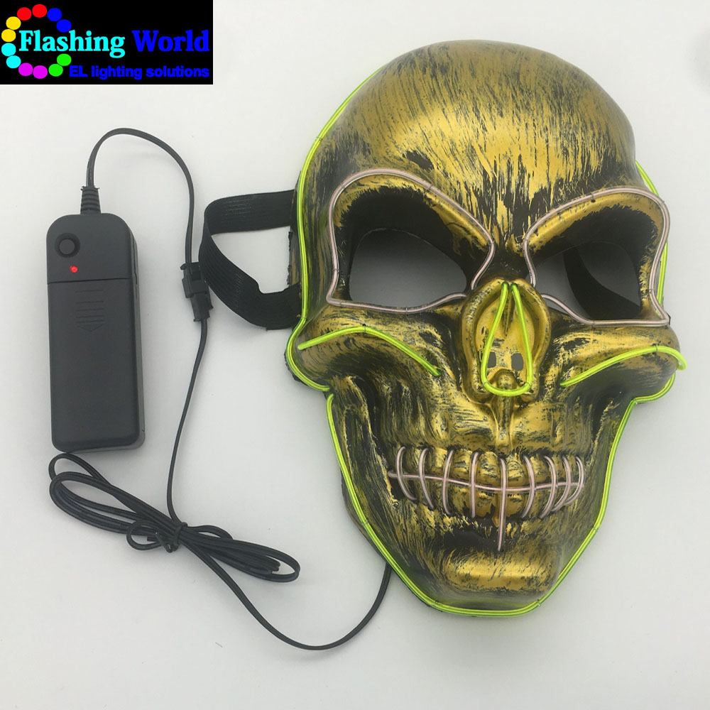 Mask halloween light, light therapy mask for Festival,Party,Dance Ball,Cosplay