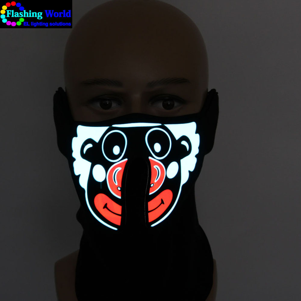 High quality LED Party Mask,EL Party Mask,Party Mask